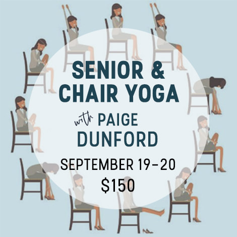 Senior & Chair Yoga